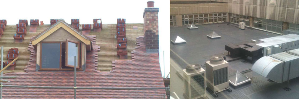 domestic and commercial roofing Leicester