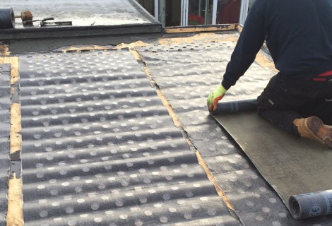 Domestic Garage Flat Roof