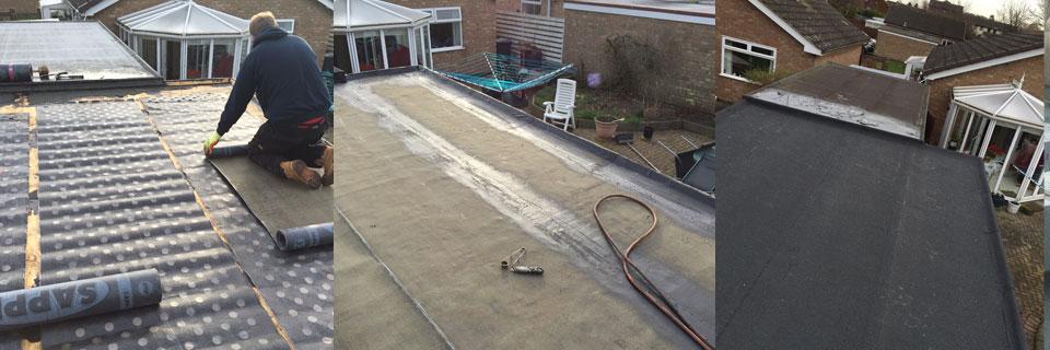 garage flat roof, garage roofing